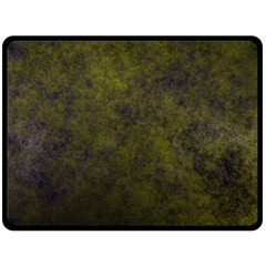 Green Background Texture Grunge Double Sided Fleece Blanket (large)  by Celenk