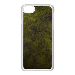 Green Background Texture Grunge Apple Iphone 8 Seamless Case (white) by Celenk