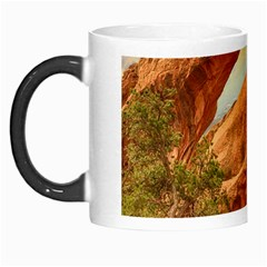 Canyon Desert Rock Scenic Nature Morph Mugs by Celenk