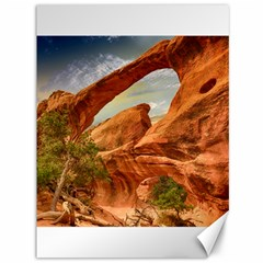 Canyon Desert Rock Scenic Nature Canvas 36  X 48   by Celenk