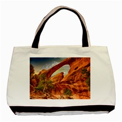 Canyon Desert Rock Scenic Nature Basic Tote Bag (two Sides) by Celenk
