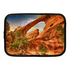 Canyon Desert Rock Scenic Nature Netbook Case (medium)  by Celenk