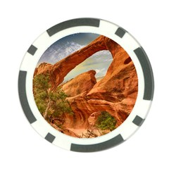 Canyon Desert Rock Scenic Nature Poker Chip Card Guard (10 Pack) by Celenk