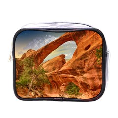 Canyon Desert Rock Scenic Nature Mini Toiletries Bags by Celenk