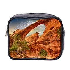 Canyon Desert Rock Scenic Nature Mini Toiletries Bag 2 Side by Celenk