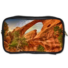 Canyon Desert Rock Scenic Nature Toiletries Bags 2 Side by Celenk