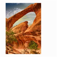 Canyon Desert Rock Scenic Nature Small Garden Flag (two Sides) by Celenk