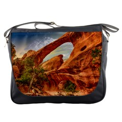 Canyon Desert Rock Scenic Nature Messenger Bags by Celenk