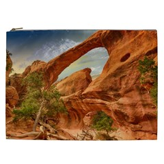 Canyon Desert Rock Scenic Nature Cosmetic Bag (xxl)  by Celenk