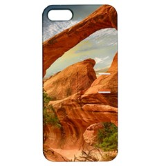 Canyon Desert Rock Scenic Nature Apple Iphone 5 Hardshell Case With Stand