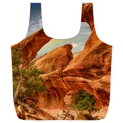 Canyon Desert Rock Scenic Nature Full Print Recycle Bags (l)  by Celenk