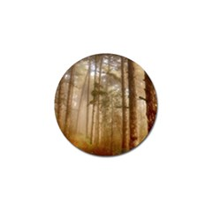 Forest Trees Wood Branc Golf Ball Marker (4 Pack) by Celenk