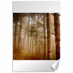 Forest Trees Wood Branc Canvas 24  X 36  by Celenk