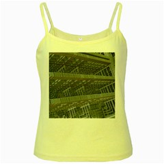 Ducting Construction Industrial Yellow Spaghetti Tank by Celenk