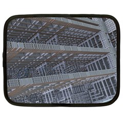 Ducting Construction Industrial Netbook Case (large) by Celenk