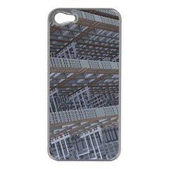 Ducting Construction Industrial Apple Iphone 5 Case (silver) by Celenk