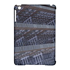 Ducting Construction Industrial Apple Ipad Mini Hardshell Case (compatible With Smart Cover) by Celenk