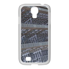 Ducting Construction Industrial Samsung Galaxy S4 I9500/ I9505 Case (white) by Celenk