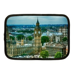 London England City Landmark Netbook Case (medium)