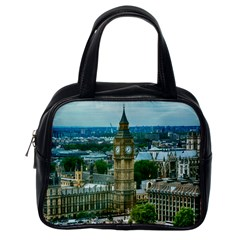 London England City Landmark Classic Handbags (one Side)