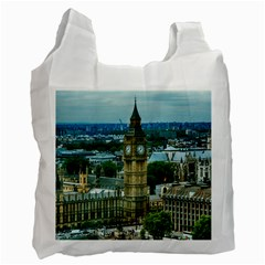 London England City Landmark Recycle Bag (two Side)  by Celenk