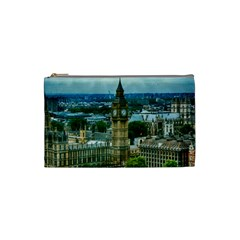 London England City Landmark Cosmetic Bag (small)