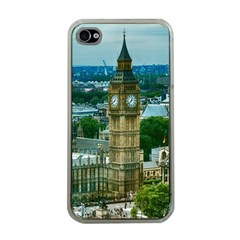 London England City Landmark Apple Iphone 4 Case (clear) by Celenk