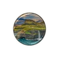Coastline Waterfall Landscape Hat Clip Ball Marker