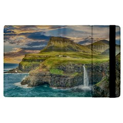 Coastline Waterfall Landscape Apple Ipad Pro 12 9   Flip Case