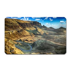 Nature Landscape Mountains Outdoor Magnet (rectangular)