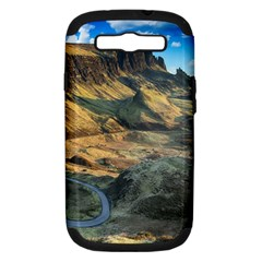 Nature Landscape Mountains Outdoor Samsung Galaxy S Iii Hardshell Case (pc+silicone)