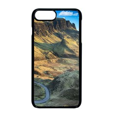 Nature Landscape Mountains Outdoor Apple Iphone 8 Plus Seamless Case (black)
