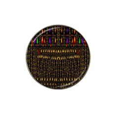 Hot As Candles And Fireworks In Warm Flames Hat Clip Ball Marker (4 Pack) by pepitasart