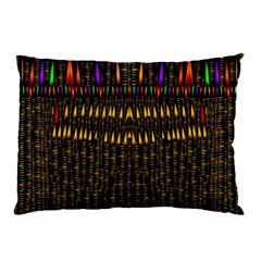 Hot As Candles And Fireworks In Warm Flames Pillow Case by pepitasart