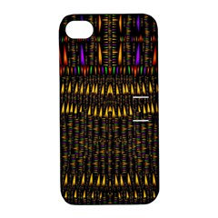 Hot As Candles And Fireworks In Warm Flames Apple Iphone 4/4s Hardshell Case With Stand by pepitasart