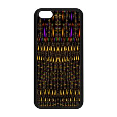 Hot As Candles And Fireworks In Warm Flames Apple Iphone 5c Seamless Case (black) by pepitasart