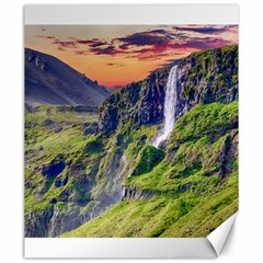 Waterfall Landscape Nature Scenic Canvas 20  X 24   by Celenk