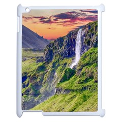 Waterfall Landscape Nature Scenic Apple Ipad 2 Case (white)