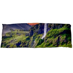 Waterfall Landscape Nature Scenic Body Pillow Case Dakimakura (two Sides) by Celenk