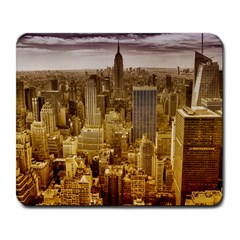 New York Empire State Building Large Mousepads by Celenk
