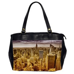 New York Empire State Building Office Handbags (2 Sides)
