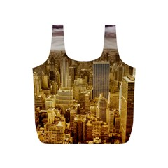 New York Empire State Building Full Print Recycle Bags (s)  by Celenk