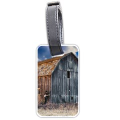 Banjo Player Outback Hill Billy Luggage Tags (two Sides)