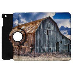 Banjo Player Outback Hill Billy Apple Ipad Mini Flip 360 Case by Celenk