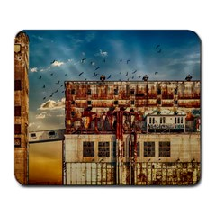 Ruin Abandoned Building Urban Large Mousepads