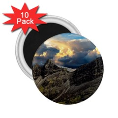 Landscape Clouds Scenic Scenery 2 25  Magnets (10 Pack)
