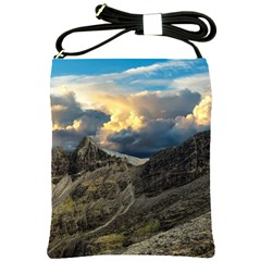 Landscape Clouds Scenic Scenery Shoulder Sling Bags by Celenk