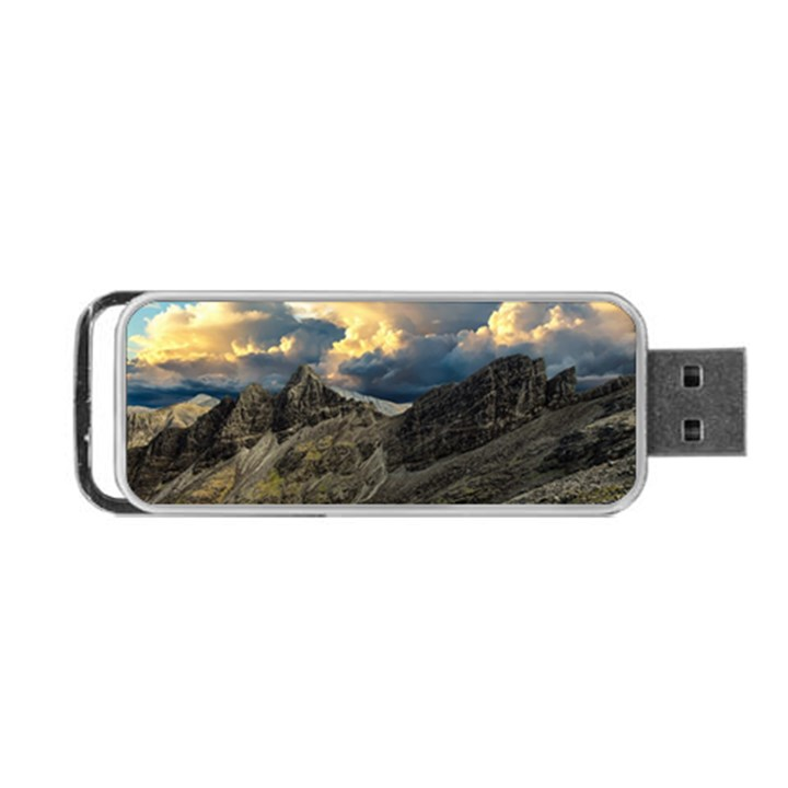 Landscape Clouds Scenic Scenery Portable USB Flash (Two Sides)