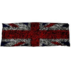 Union Jack Flag Uk Patriotic Body Pillow Case Dakimakura (two Sides) by Celenk