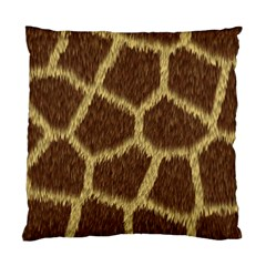 Background Texture Giraffe Standard Cushion Case (two Sides)